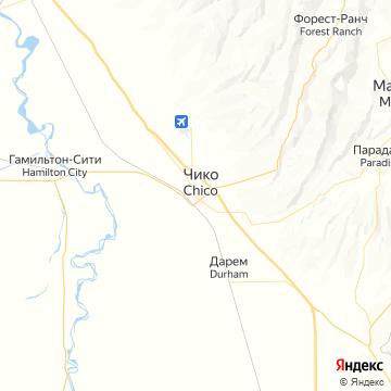 Карта Чико