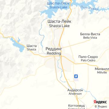 Карта Реддинга