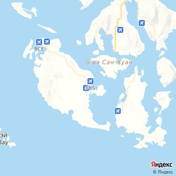 Карта Фрайди Харбор