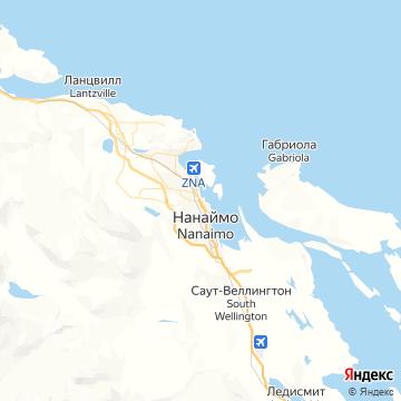 Карта Нанаймо