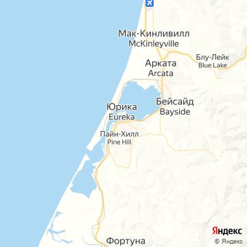 Карта Юреки