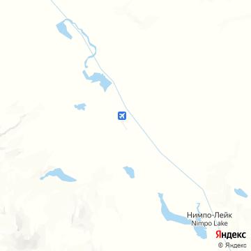 Карта Anahim Lake