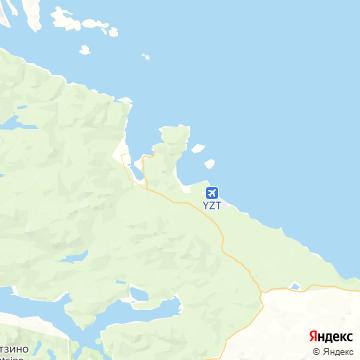 Карта Порта Харди
