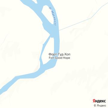 Карта Форта Доброя Надежды