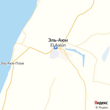 Карта Лаайюна