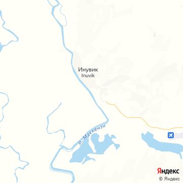 Карта Инувика
