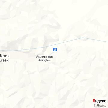 Карта Доусна-Сити