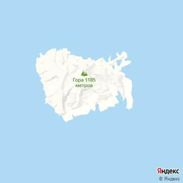 Карта Нуку-Хивы