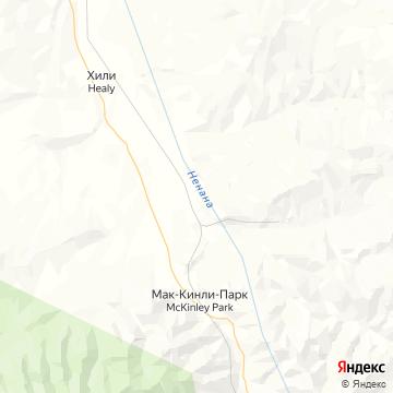 Карта Хилей Лейк