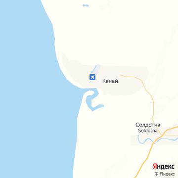 Карта Кенаев