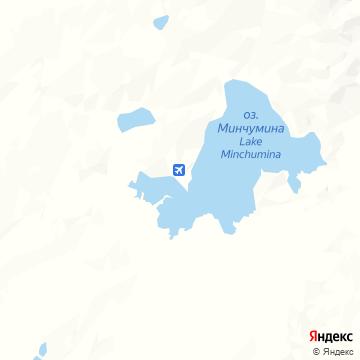 Карта Озеро Минчуминой