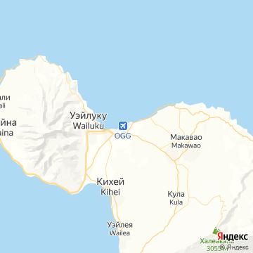 Карта Мауев