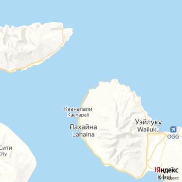 Карта Капалуа