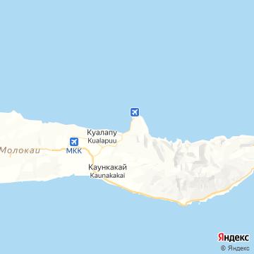 Карта Калаупапы