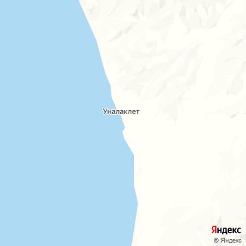 Карта Уналаклита