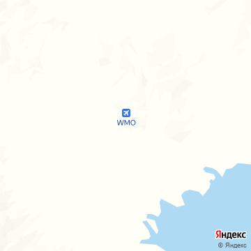 Карта Уайта Маунтина