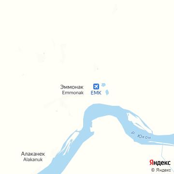 Карта Эммонака