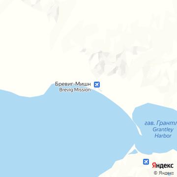 Карта Бревига Миссион