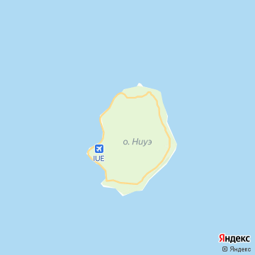 Карта Ниуэ