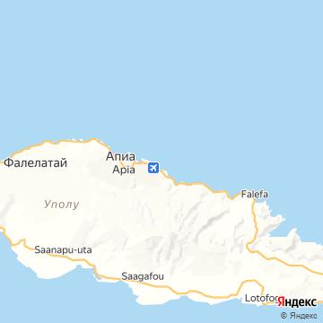Карта Апиа