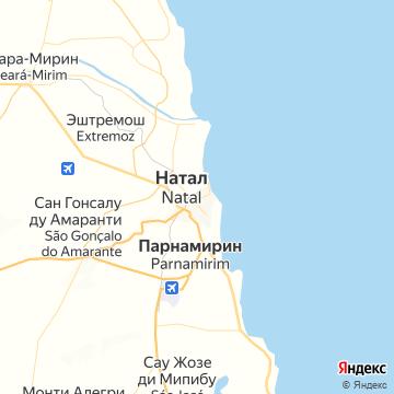 Карта Наталя