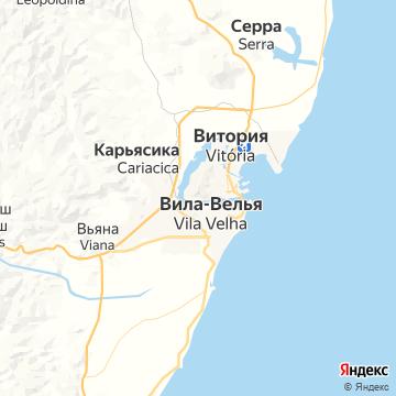 Карта Витории