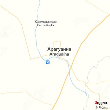 Карта Арагуэйны