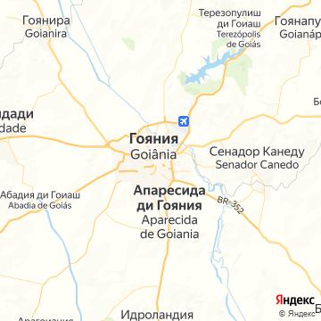Карта Гояний