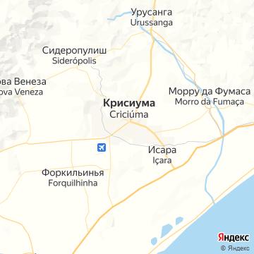 Карта Крикиумы