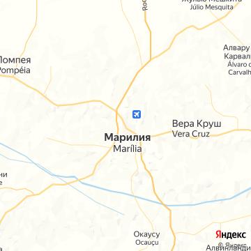 Карта Марилиа