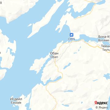 Карта Обана