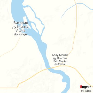 Карта Каражаса