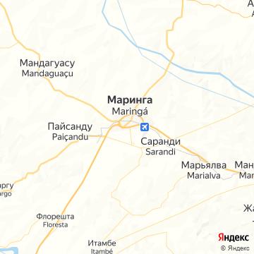 Карта Маринги
