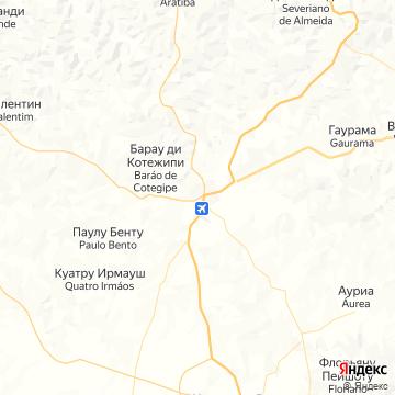 Карта Erechim