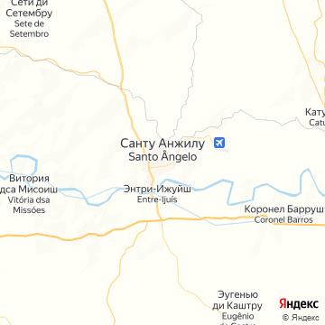 Карта Санто-Анджело