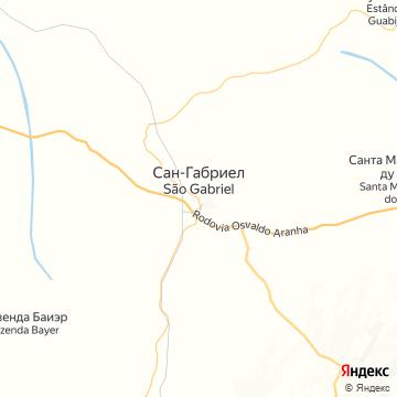 Карта Сан-Габриэла