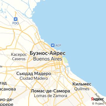 Карта Буэнос-Айреса