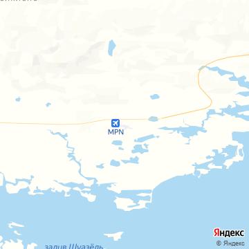 Карта Маунта-Плезанта