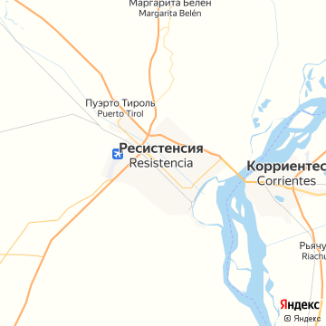 Карта Ресистенсии