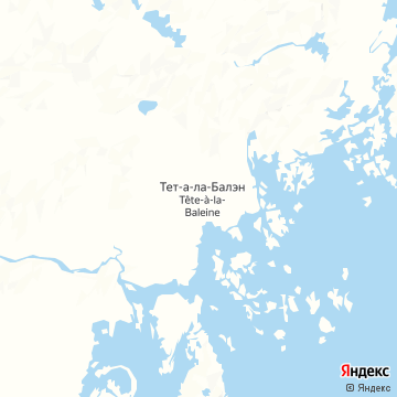 Карта Тета Ла Балайна