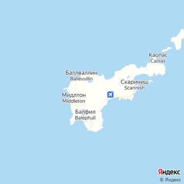 Карта Тирей