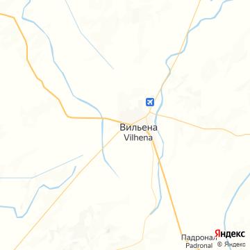 Карта Вилены