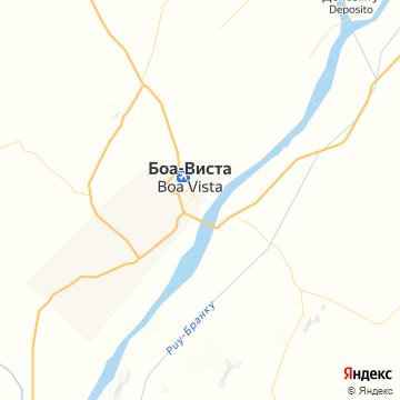 Карта Боа Виста