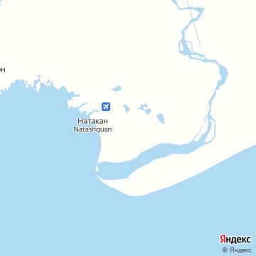 Карта Наташкуана