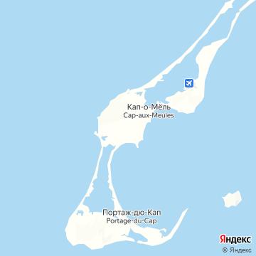 Карта Ильса де Мадель