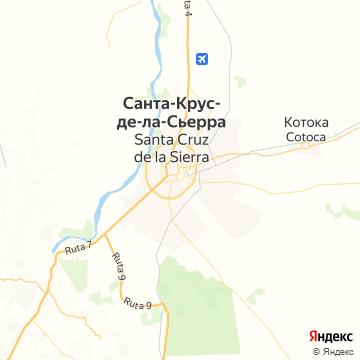 Карта Санта-Круса