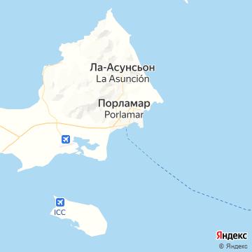 Карта Порламара