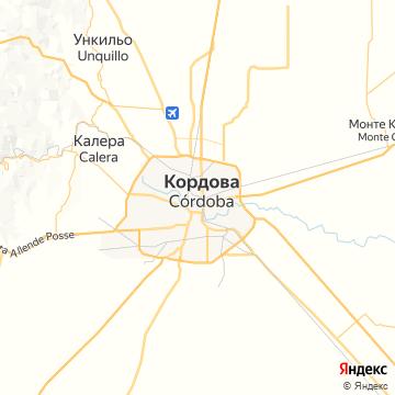 Карта Кордовы