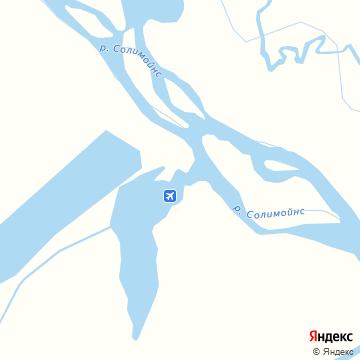 Карта Тефе