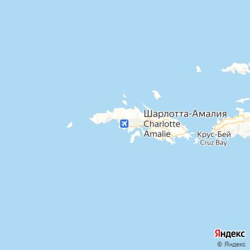 Карта Сента Томаса